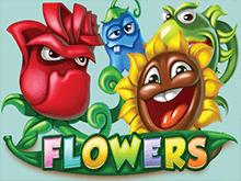 Играйте на деньги в Вулкане в автомат Цветы